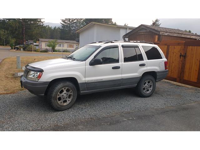 SOLD - 1999 Jeep Grand Cherokee Laredo 4X4, 4L 6 cylinder